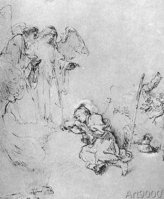 Harmensz van Rijn Rembrandt - Jakobs Traum