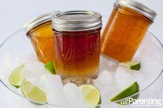 Mason jar daiquiri cocktails