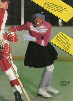 Whitney Houston in Seventeen - December, 1981