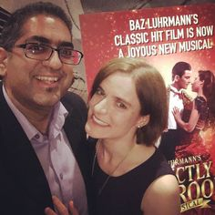 """Date night! I'm w/ wifey @AnandaUmar to see """"Strictly Ballroom"""" @Mirvish. #love #marriage  Magnifico!  Huge #gratitude to Stephan Gardner & family for watching our angels. It's been too long since we went out just the two us."""