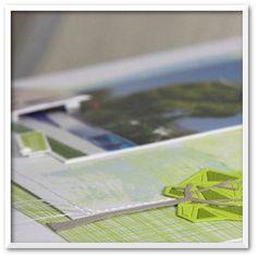 """Cathygel : Tampons et matrices de coupe (dies) #4enSCRAP """"Promenons-nous dans les bois"""""""