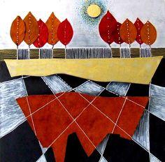 """Saatchi Art Artist Marita Milkis; Installation, """"Autumn"""" #art"""
