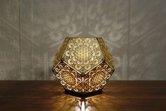 An art group from San Francisco called Cozo designs and fabricates amazing collections of artistic light fixtures that are based on sacred geometric forms, like those we see naturally occurring in life forms throughout the earth.  These unbelievable pieces are a result of technology meets design mee