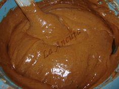 La Ancuţa: Prajitura cu ciocolata si nuca de cocos Peanut Butter, Pudding, Food, Essen, Puddings, Yemek, Meals