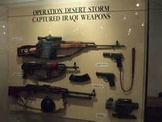 Operation Desert Storm captured Iraqi weapons