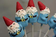 Travel Gnome Cake Pops by Sweet Lauren Cakes, via Flickr