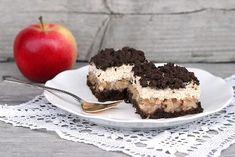 Babkin strúhaný kakaovo - tvarohový koláč s jablkami, Koláče, recept | Naničmama.sk