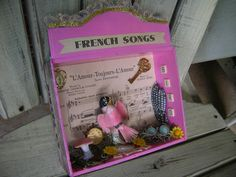 New  Romantic  Found Objects and French Songs by TillyFritz, $19.99