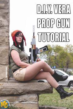 vera firefly prop gun tutorial - Breezeeweezee Cosplay