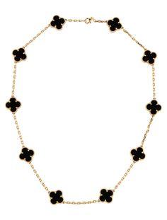 Van Cleef & Arpels Vintage Alhambra Necklace - Jewelry - VAC20137 ...