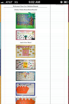Group 4 Cute Boarders, Class List, Chicka Chicka Boom Boom, Bulletin Boards, Group, Bulletin Board, Data Boards