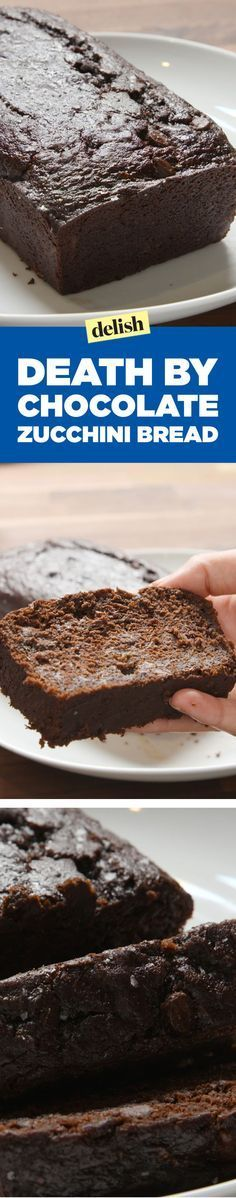 This Death by Chocolate Zucchini Bread Is the Healthiest Way to Get Your Extreme Chocolate Fix