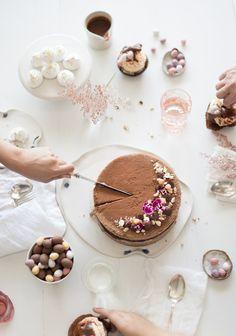 simmer & boyle: chocolate hazelnut sponge