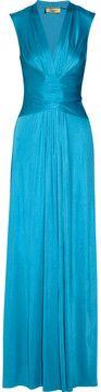 Issa Silk-jersey maxi dress on shopstyle.com