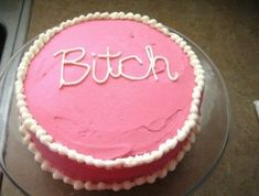 The cake for when someone eats the last slice of pizza: