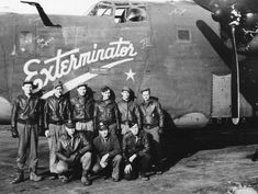 "B-24 ""EXTERMINATOR II ""  crew"