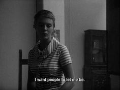 """""""Quiero que la gente me deje ser"""""""
