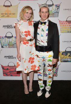 Os melhores looks da festa que comemorou a parceria entre Jeremy Scott e Longchamp (Foto: Editora Globo)