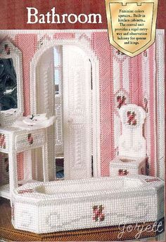 Free Plastic Canvas Barbie Furniture Bing Images Plastic Canvas Crafts Pinterest Barbie