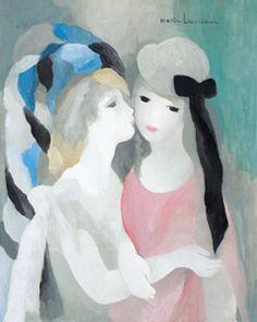 ≪接吻≫ マリー・ローランサン展 府中市美術館