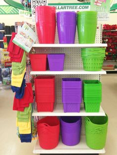 Dollar Tree organization! Big tubs for linen closet and office closet