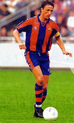 Gheorghe Gică Popescu, born 9 October 1967, Romanian defender and captain, FC Barcelona (1995-1997)