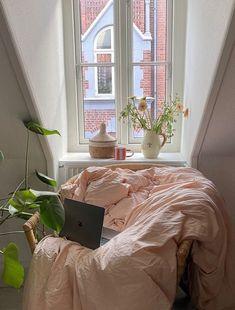 Dream Rooms, Dream Bedroom, Home Bedroom, Bedroom Decor, Bedrooms, My New Room, My Room, Dream Apartment, Dream Decor