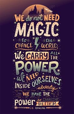 Harry Potter Quote! by tricia More