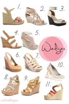 Summer Must Have: Wedges!