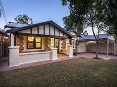 37 Clifton Street, Millswood, SA View property details and sold price of 37 Clifton Street & other properties in Millswood, SA Exterior House Colors, Home Reno, Bungalows, Reno Ideas, Colour Schemes, Porch, Real Estate, Colours, Street