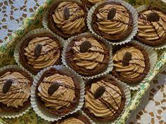 Nougat Schüsselchen Muffin, Cookies, Breakfast, Desserts, Food, Vegane Rezepte, Crack Crackers, Morning Coffee, Tailgate Desserts