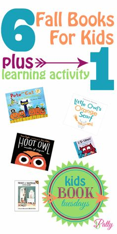 6 Fall Books 1 Activity For Kids