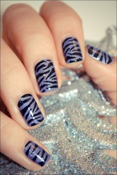 zebra - you can get this trend from Jamberry as well