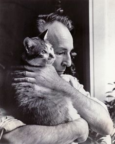 Balanchine & Mourka.....this puss was inspiration to Mr. B for his more abstract movements in choreography