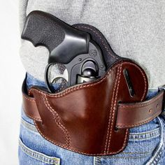 The Ultimate Leather Gun Holster Fits J Frame / Revolver ...