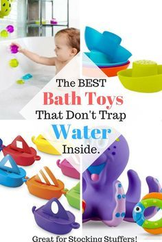 All The Best Bath Toys That Dont Have Holes To Trap Water And Mold