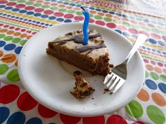 Grain Free Chocolate Cake with Peanut Butter Cream Frosting