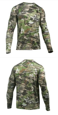 Shirts and Tops 177874: Under Armour Ua Tech™ Ridge Reaper® Forest Camo Long Sleeve Hunting Shirt -> BUY IT NOW ONLY: $39.99 on eBay!