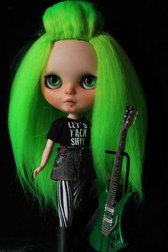OOAK custom Takara Blythe doll Pizzazz by Chantilly by outonalimb1, $1000.00