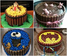 Krümelmonster Kuchen, Batman Kuchen, Kindertorte Ideen, Affenkuchen Superman action figures have invariably been preferred considering Candy Cakes, Cupcake Cakes, Cookies Et Biscuits, Cake Cookies, Cake Recipes, Dessert Recipes, Food Cakes, Cute Cakes, Yummy Cakes