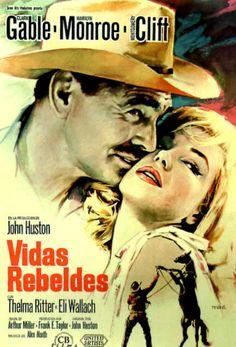 Vintage Foreign Movie Poster Fridge Magnet Marilyn by Vividiom, $3.50