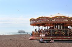 Here's a selection of beautiful cafes, charming streets and good food in Brighton http://townske.com/guide/10186/discover-brighton
