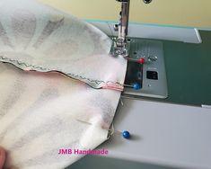 How to Make a Simple Tote Bag - JMB Handmade Diy Bags Patterns, Handbag Patterns, Sewing Patterns, Patchwork Patterns, Dress Patterns, Easy Tote Bag Pattern Free, Tote Pattern, Diy Fabric Purses, Fabric Wallet
