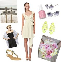 How to Style Bridesmaid Dresses for a Beach Wedding