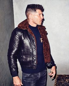 Jon Bernthal Tries On This Fall's Best New Designer Menswear   GQ