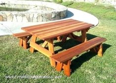 Plans for Building A Picnic Table with Separate Benches - Plans for Building A Picnic Table with Separate Benches , Picnic Table Plans Detached Benches – Freddybeach Octagon Picnic Table Plans, Round Picnic Table, Build A Picnic Table, Wooden Picnic Tables, Patio Table, Wood Patio Furniture, White Dining Table, Woodworking Bench Plans, Lounge Sofa