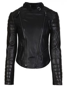 Boda Skins - The Luna Biker Jacket, Oil Black