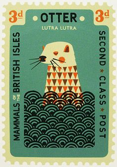 TypeToy - Graphic Finds Aren't stamps just the uttermost perfect design challenge? Here's the tiniest space we could possible give you... now make it fabulous so lost of people will buy it, oh - and if it were commemorative or something that would be great too.