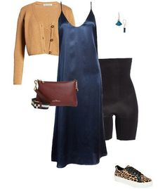 Sweater over a dress | 40plusstyle.com