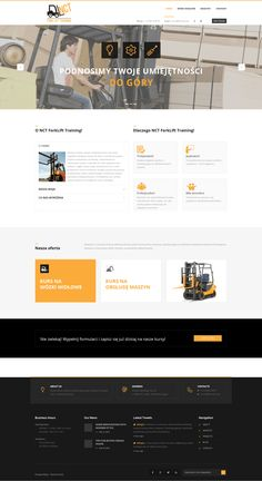 #website available in #English and #Polish! #newdesign #SEO #strategy #digitalagency #follows #training #forklifts #branding